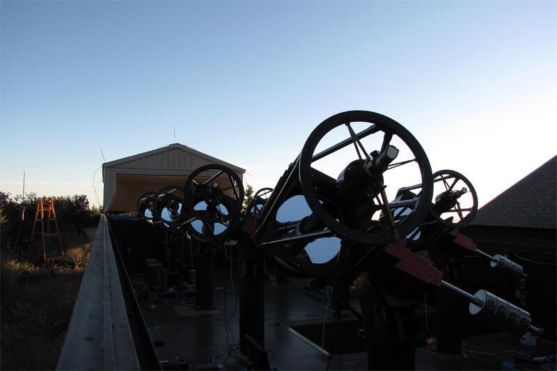 Bild zu Teleskope