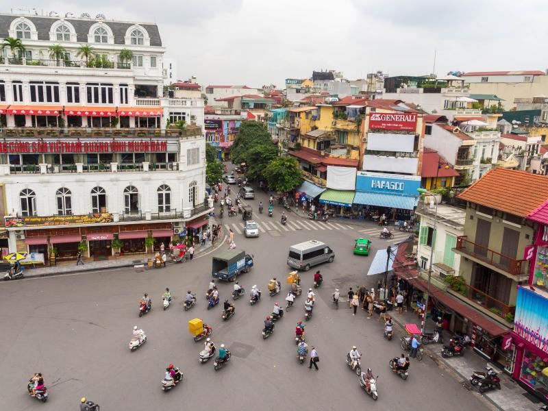 Bild zu Kreuzung in Südostasien