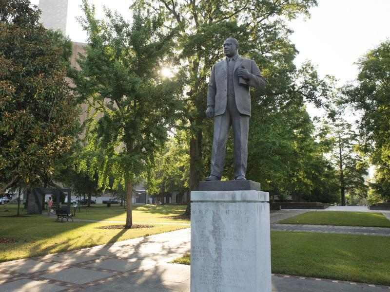 Bild zu Statue von Martin Luther King
