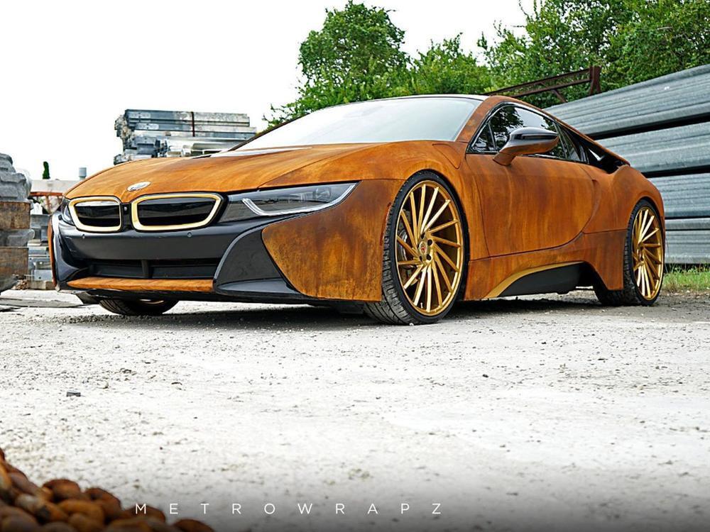 Bild zu BMW i8 von MetroWrapz