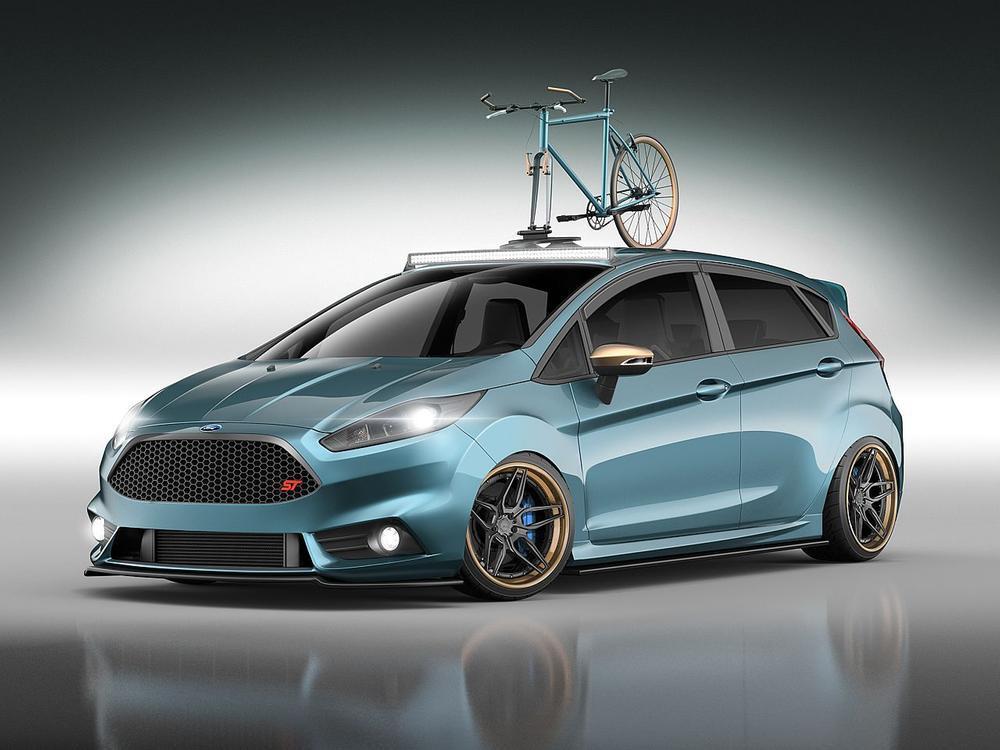 Bild zu Ford Fiesta auf der SEMA