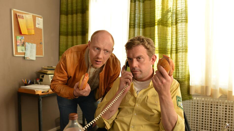 Franz Eberhofer (Sebastian Bezzel) und Rudi Birkenberger (Simon Schwarz)
