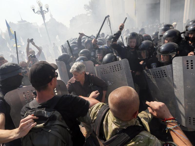 Bild zu Unruhen in Kiew
