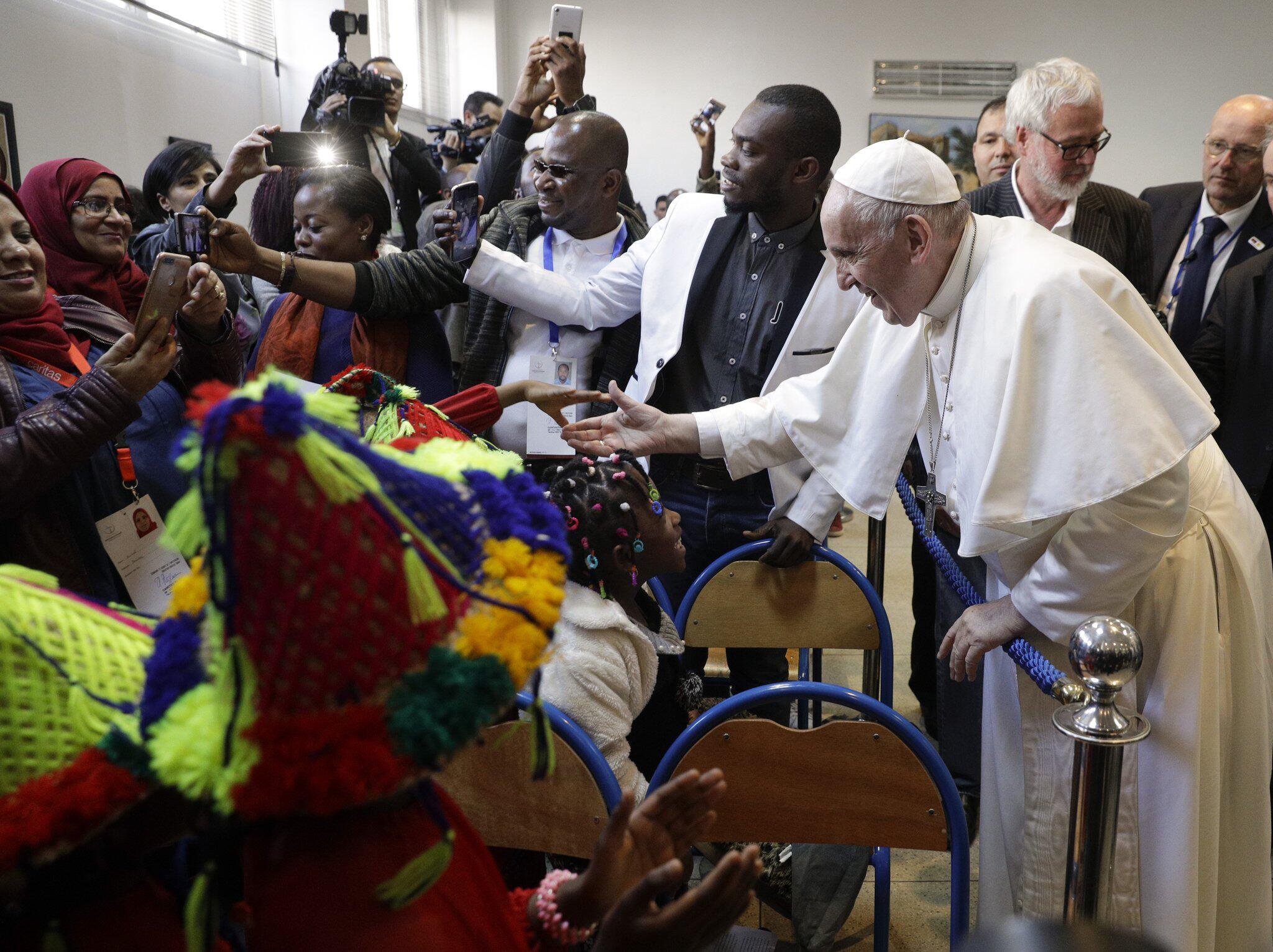 Bild zu Papst Franziskus besucht Marokko