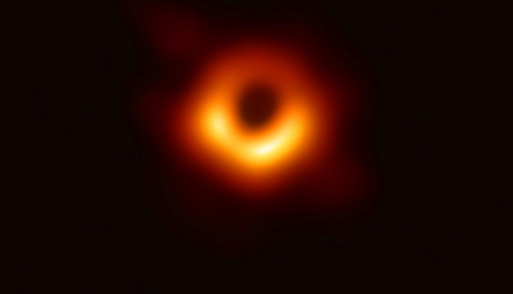 Bild zu Erstes Bild eines Schwarzen Lochs