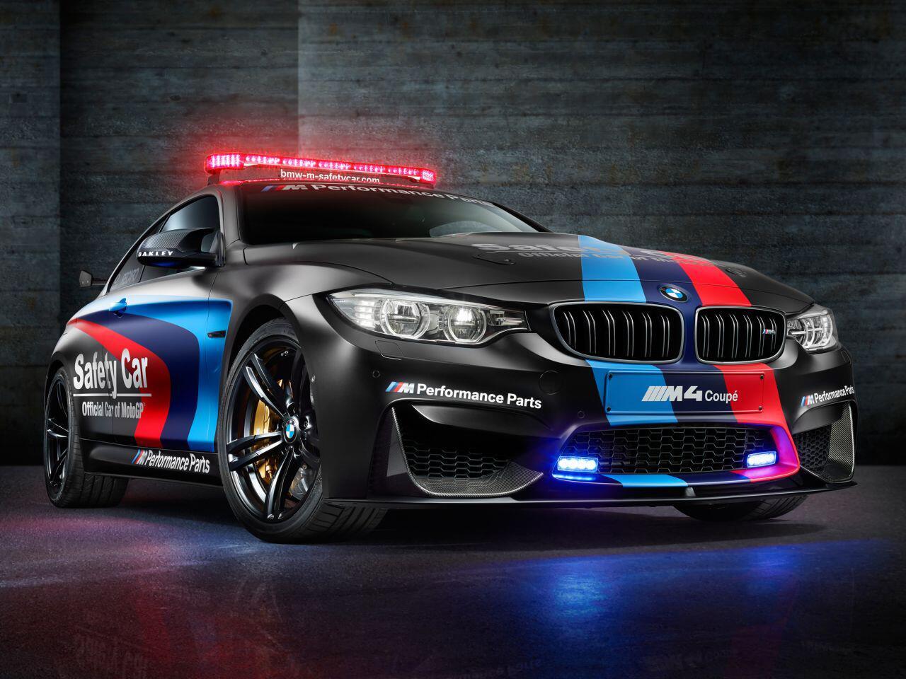 Bild zu BMW M4 MotoGP Safety Car
