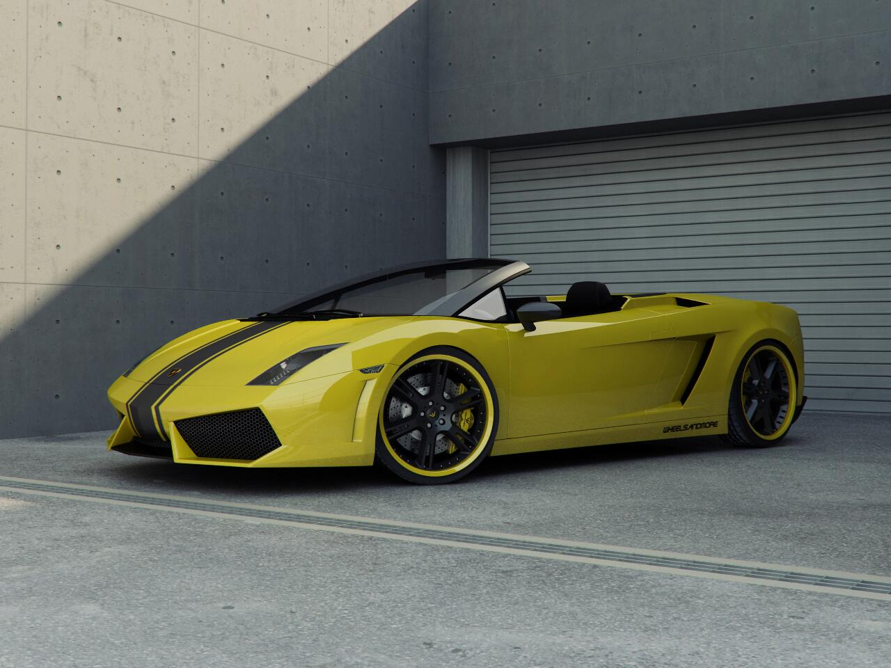 Bild zu Lamborghini Gallardo LP620 von Wheels and more