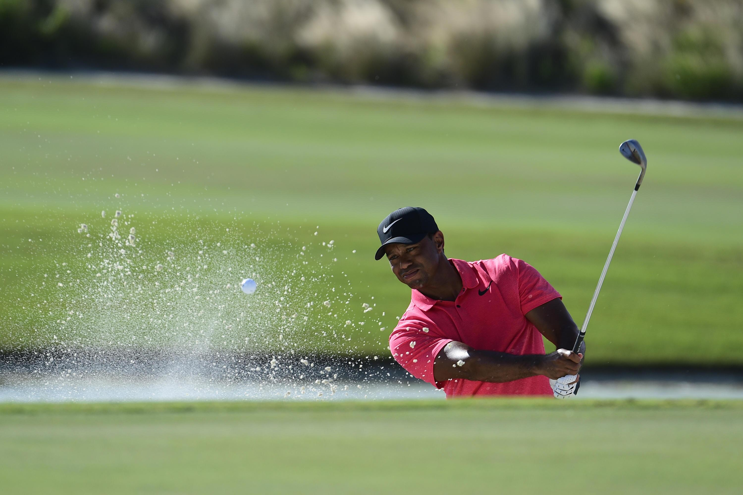 Bild zu Tiger Woods, Bahamas, Hero World Challenge, Nassau, Bunker, Albany Golf Club, 2017, Comeback
