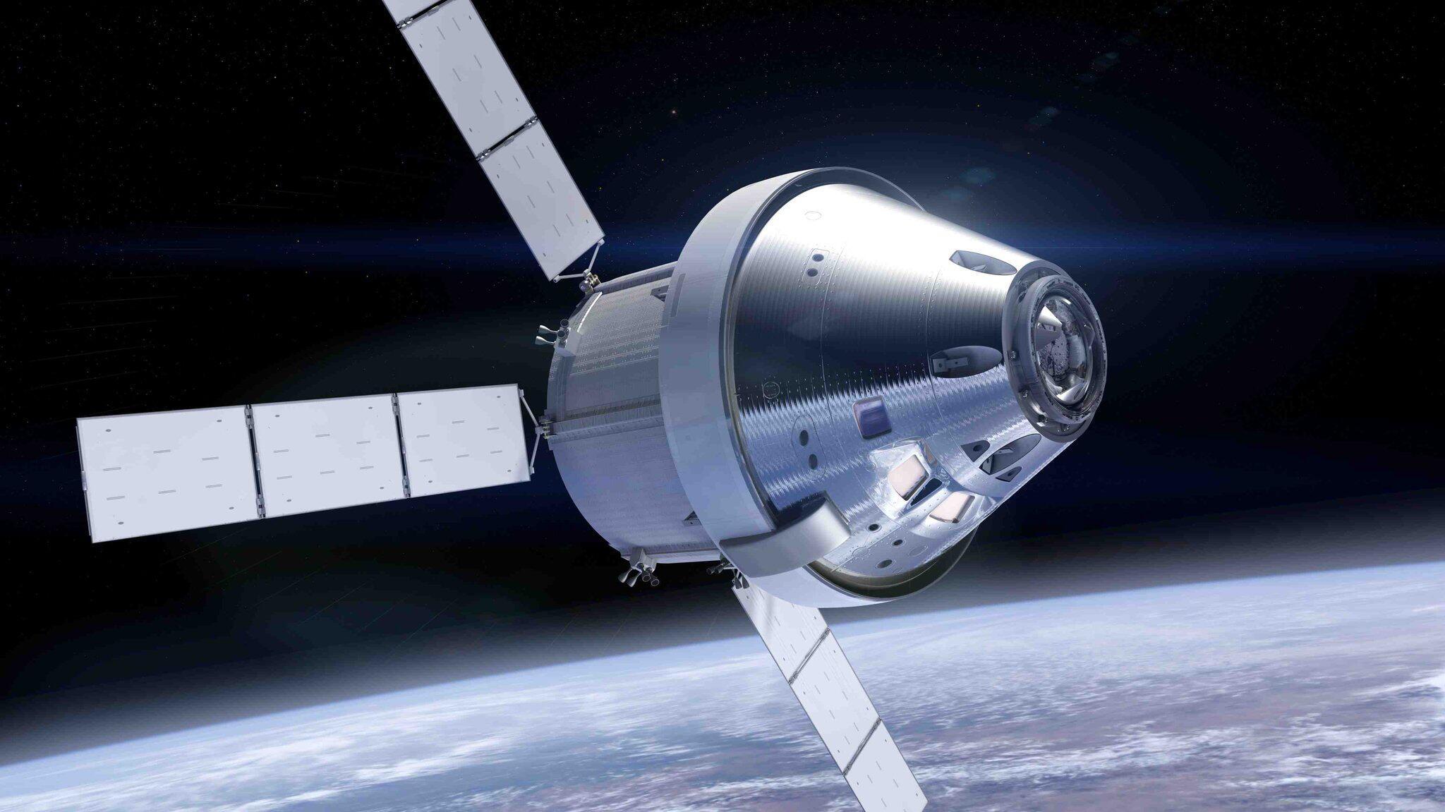 """Bild zu """"Orion"""" - Servicemodul mit Raumkapsel"""