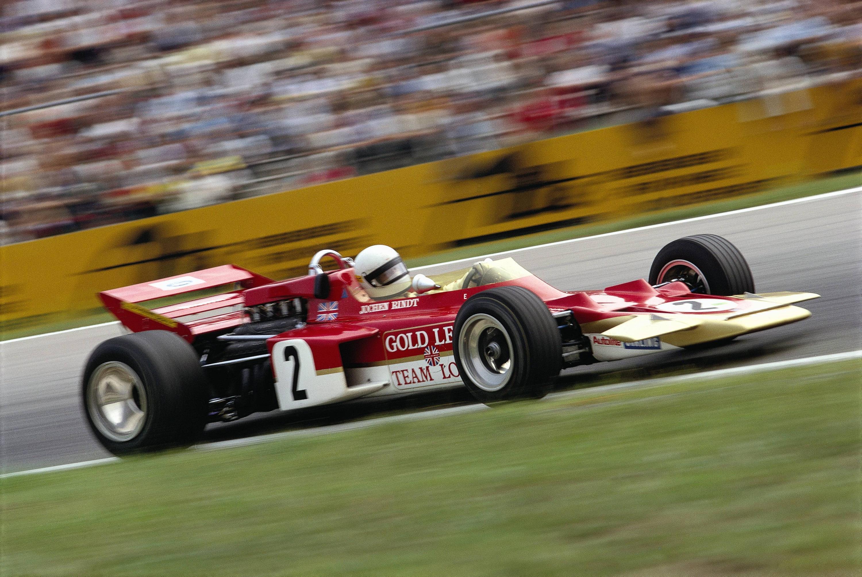 Bild zu Jochen Rindt, Lotus, Formel 1, Hockenheimring, 1970
