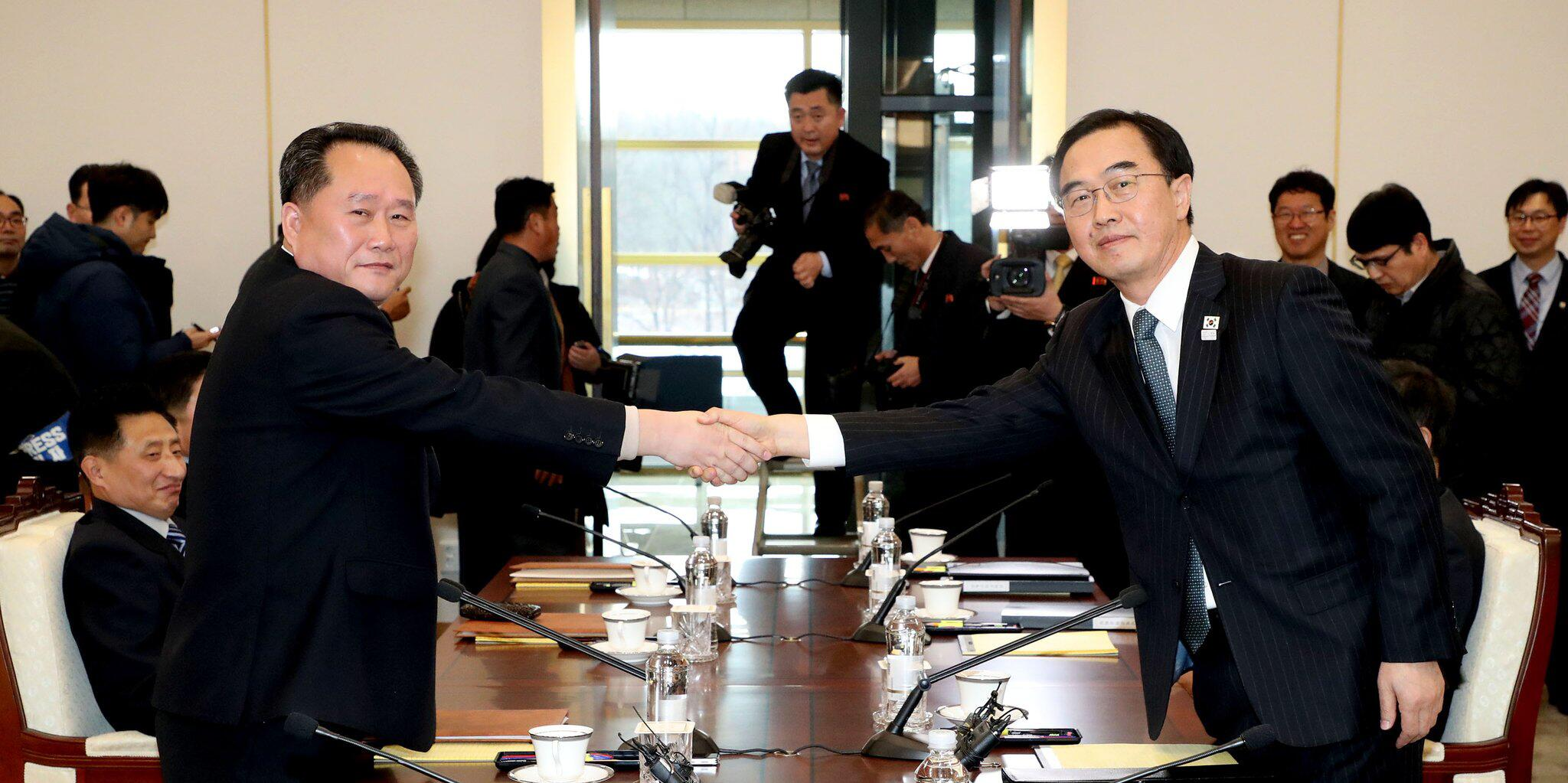 Bild zu Gespräche zwischen Nord- und Südkorea