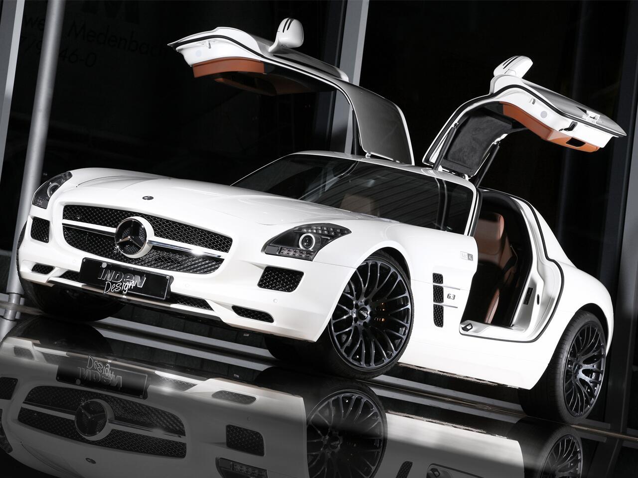 Bild zu Mercedes SLS von Inden Design