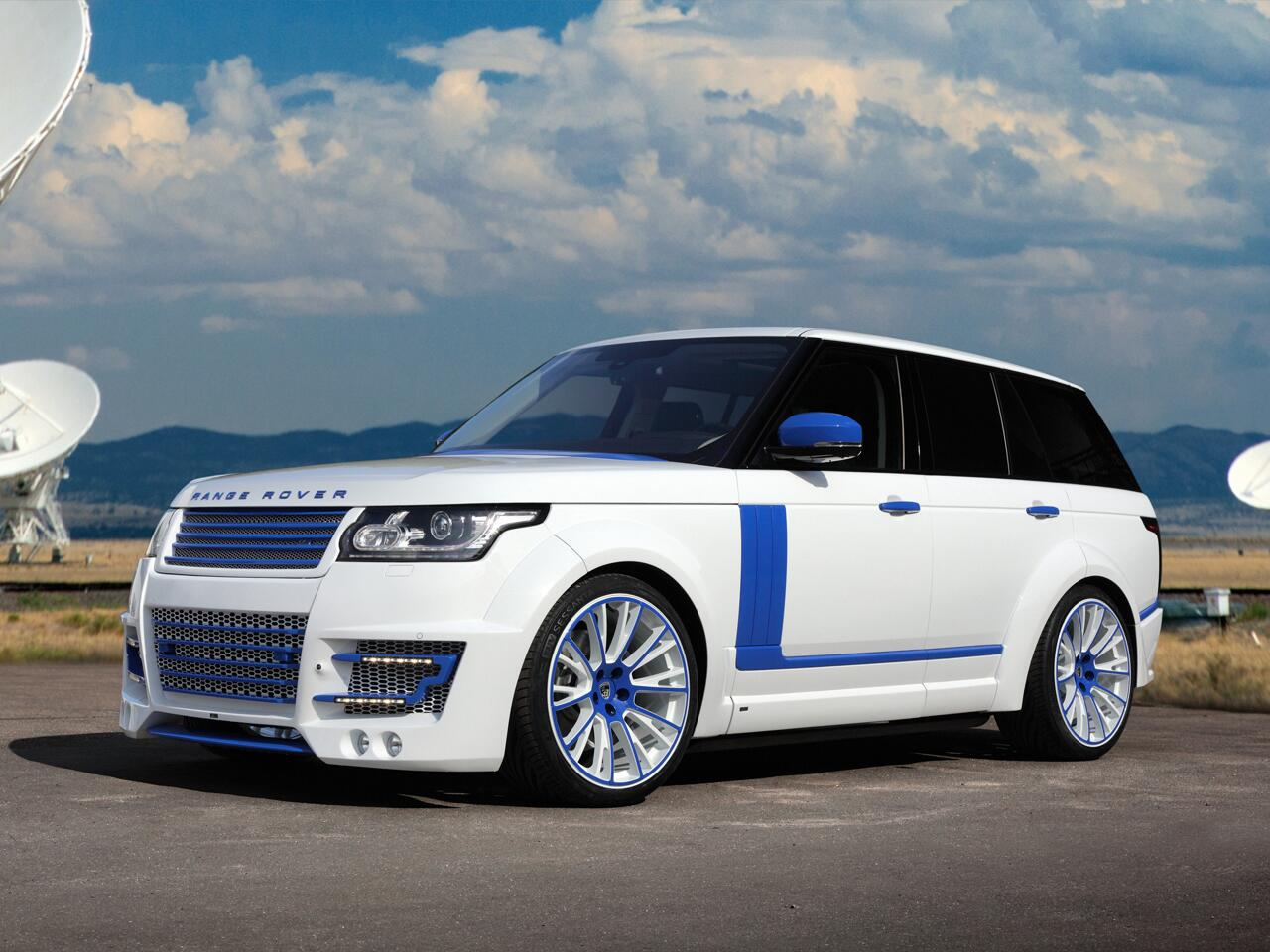 Bild zu Range Rover von Lumma