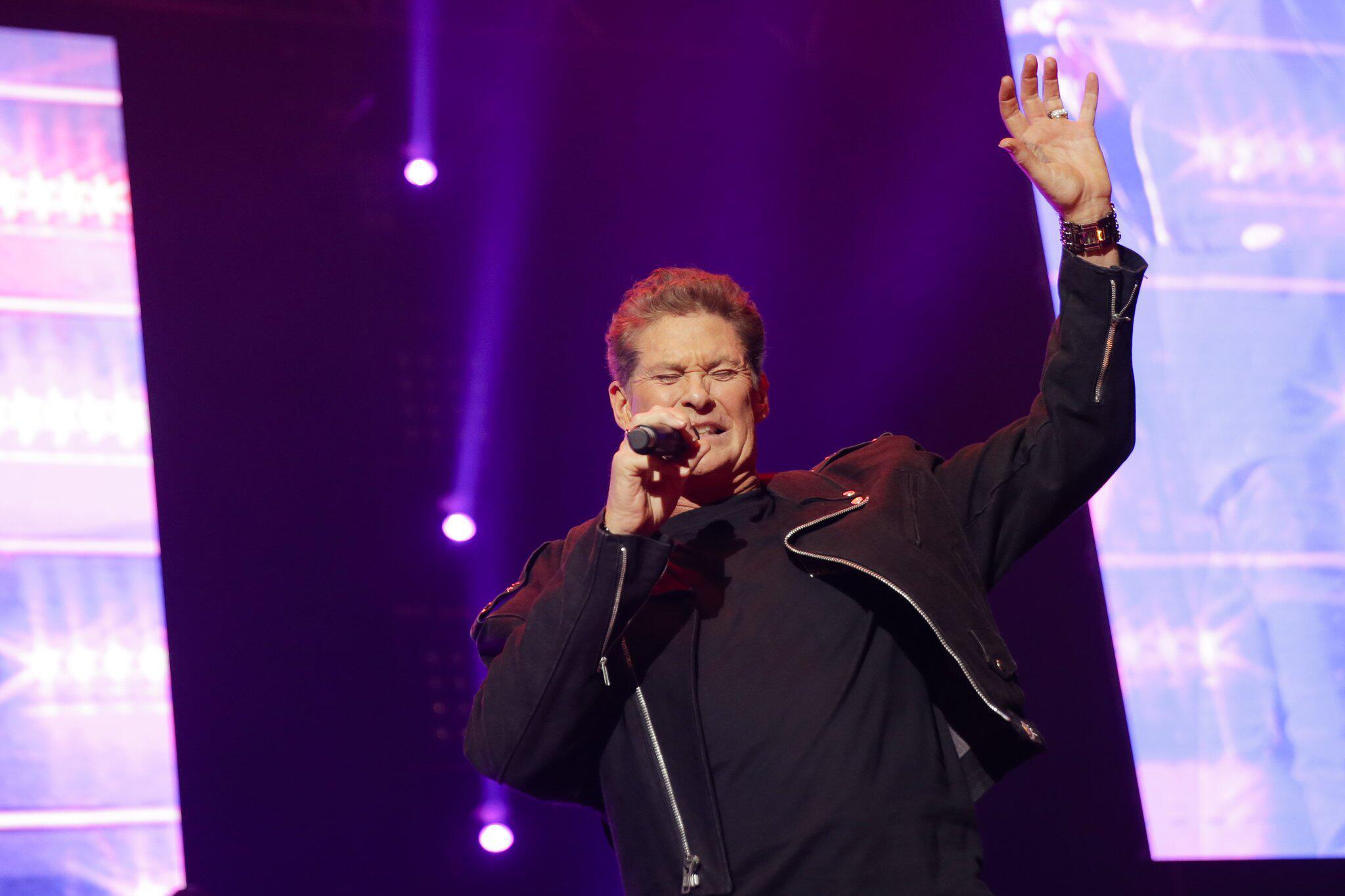 Bild zu Germany Tour Kick Off David Hasselhoff