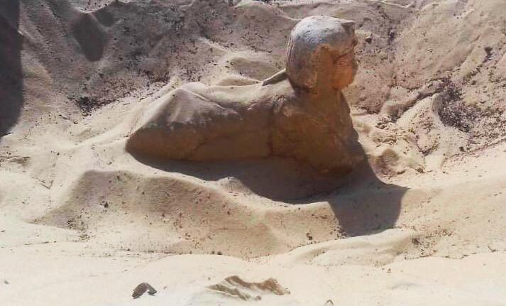 Bild zu Miniatur-Sphinx