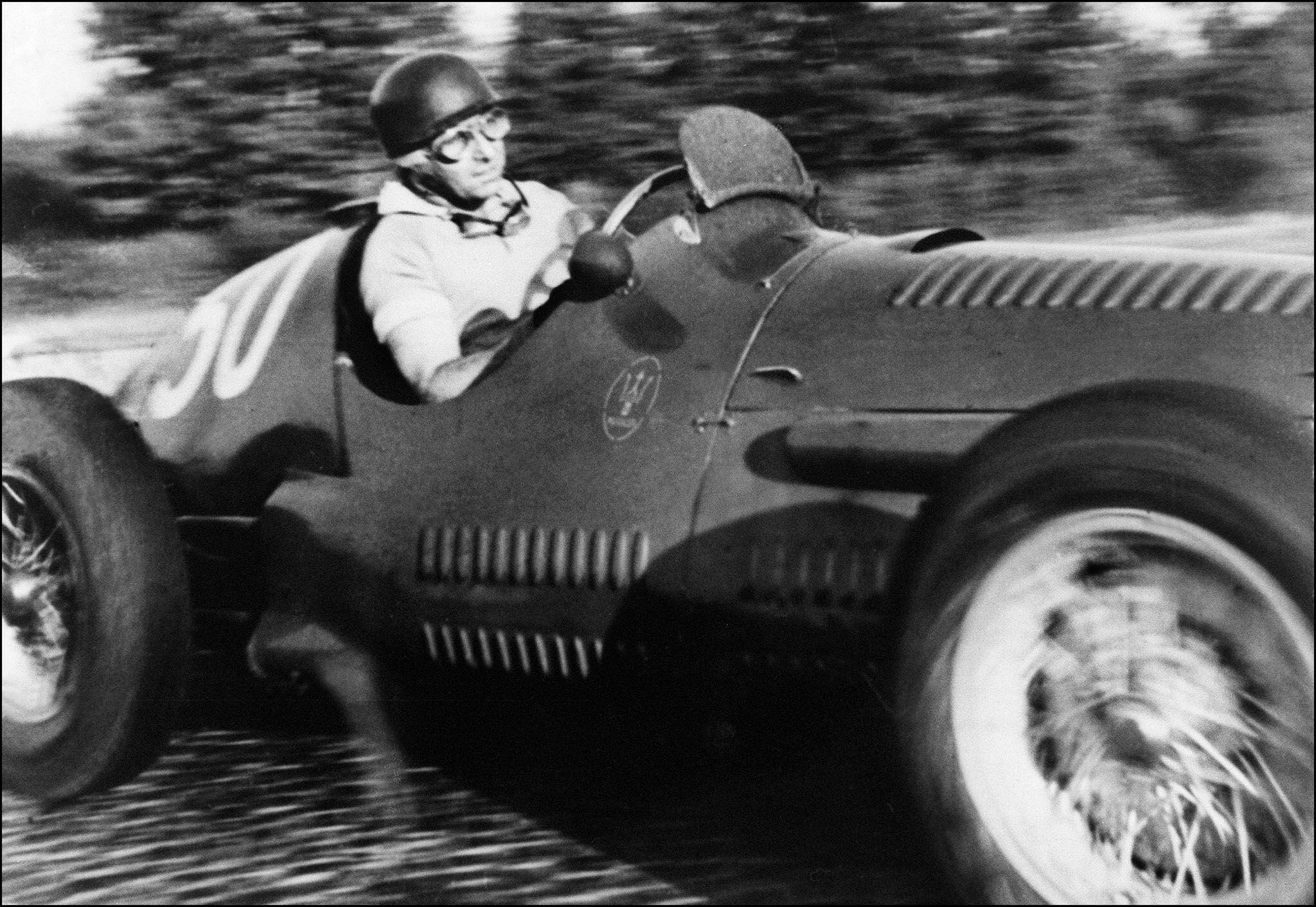 Bild zu Juan Manuel Fangio, Formel 1, 1953, Italien, Monza, Maserati