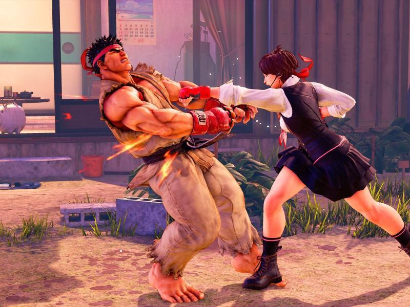 Bild zu «Street Fighter V: Arcade Edition»