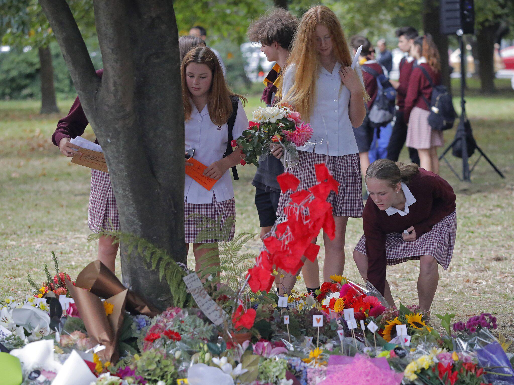 Bild zu Gedenken an Opfer des Terroranschlags von Neuseeland