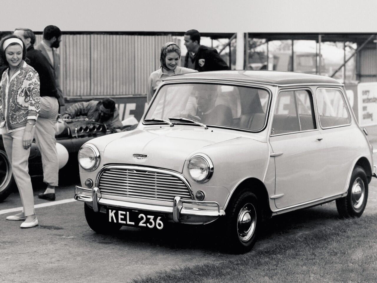 Bild zu Wurde urprünglich von der Austin Motor Company gefertigt: Der kultige Mini