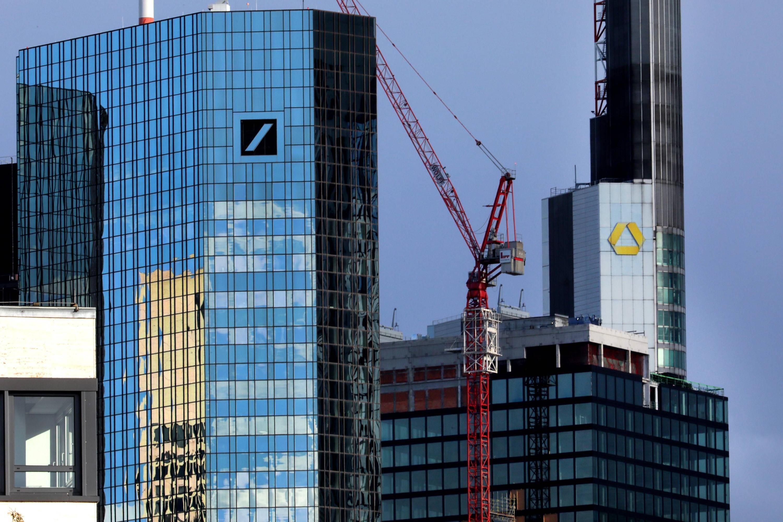 Bild zu Commerzbank und Deutsche Bank in Frankfurt