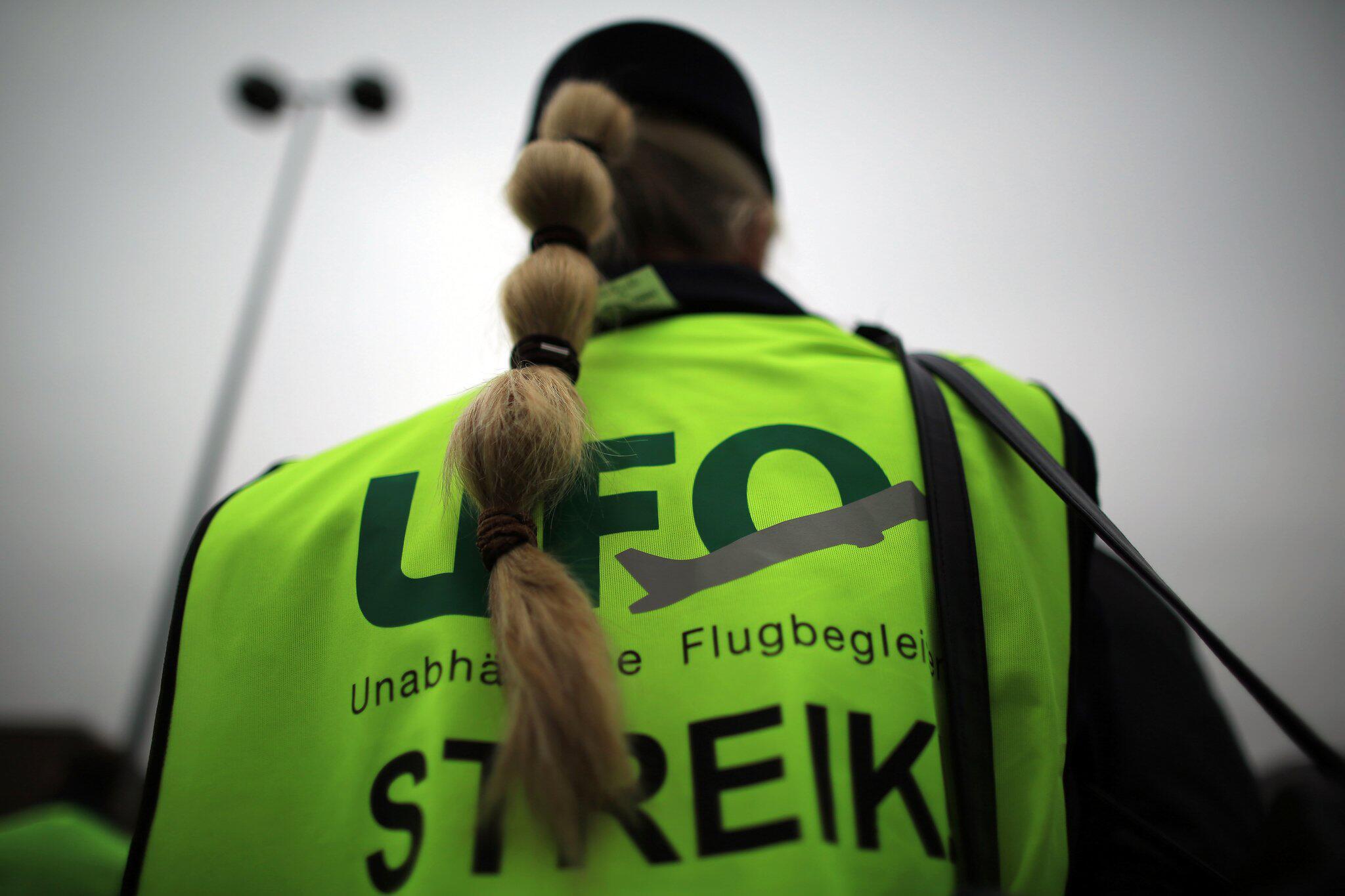 Bild zu Gewerkschaft Ufo bei Lufthansa weiterhin auf Streik-Kurs