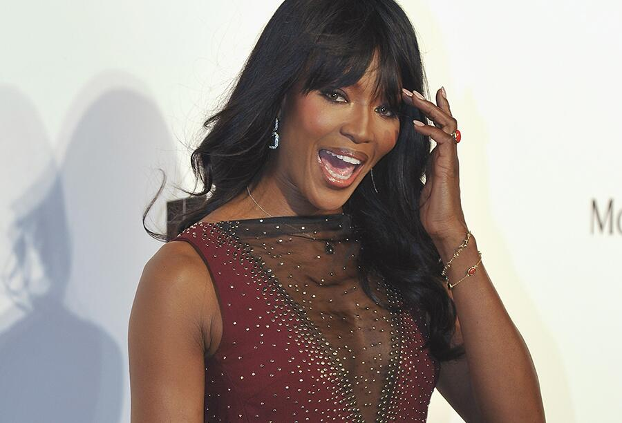 Bild zu Naomi Campbell in Hong Kong 2015
