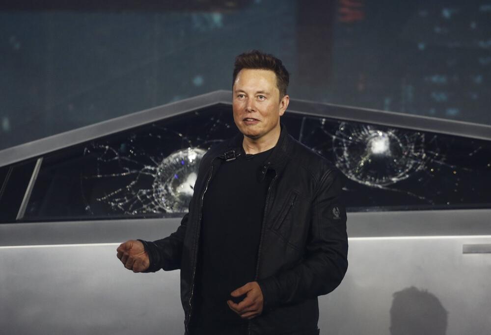 Tesla zeigt futuristischen Elektro-Pickup