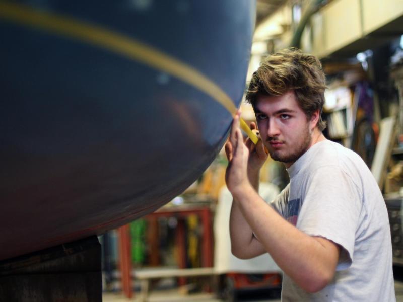 Bild zu Ausbildung zum Bootsbauer
