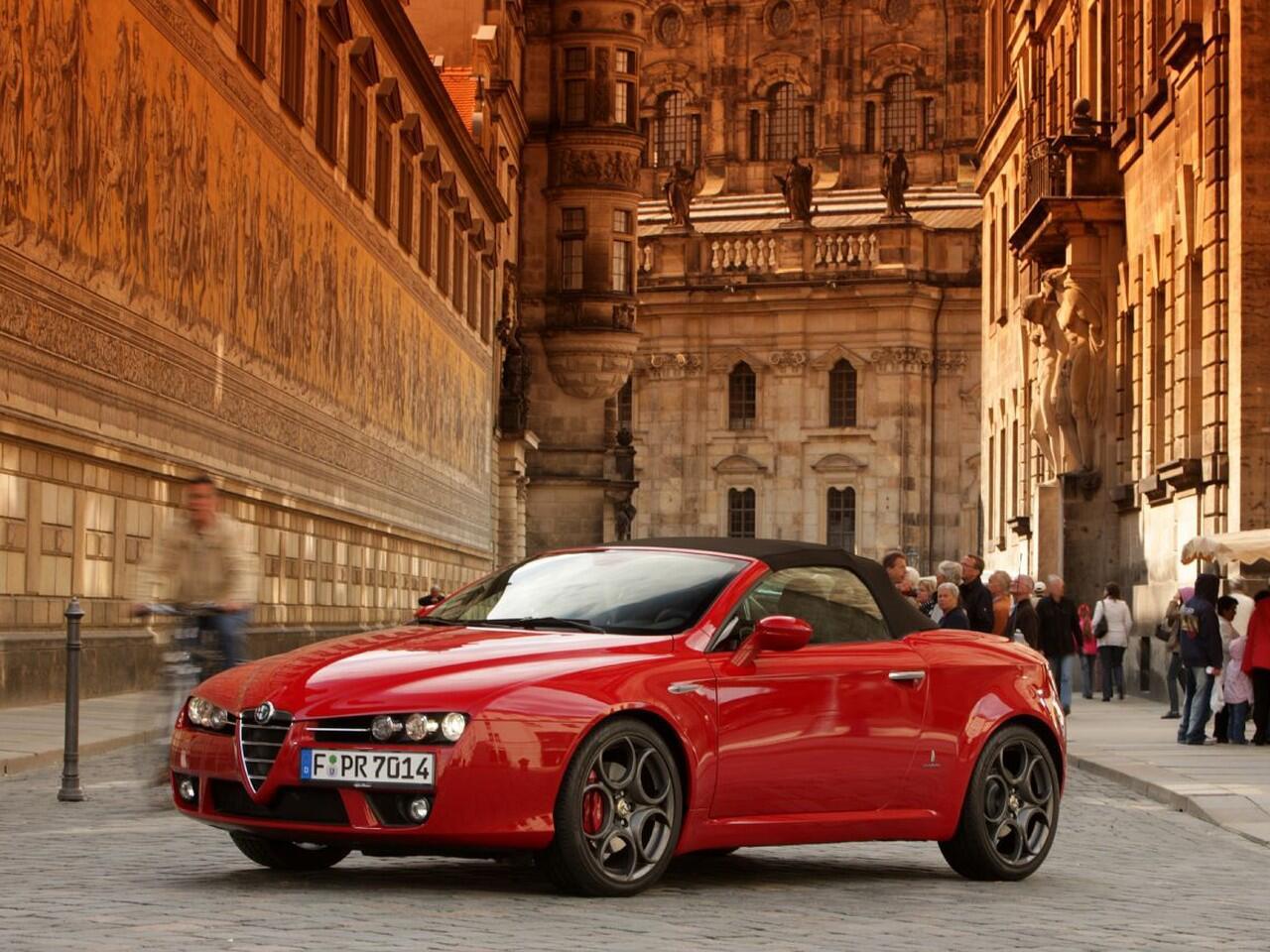Bild zu Der Alfa Romeo Spider 939 wurde bis 2010 gefertigt