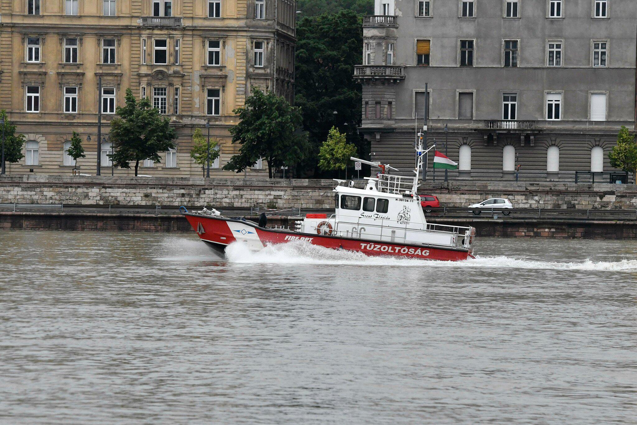 Schiffsunglück Budapest