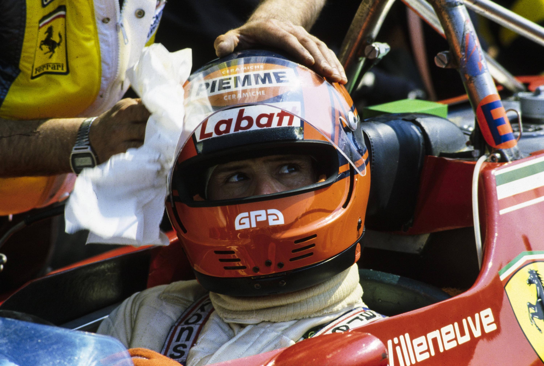 Bild zu Gilles Villeneuve, Formel 1, Belgien, Zolder, Kanada, 1982