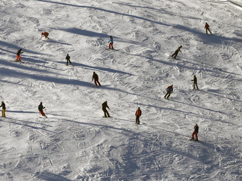 Bild zu Ski-Läufer auf dem Winterberg