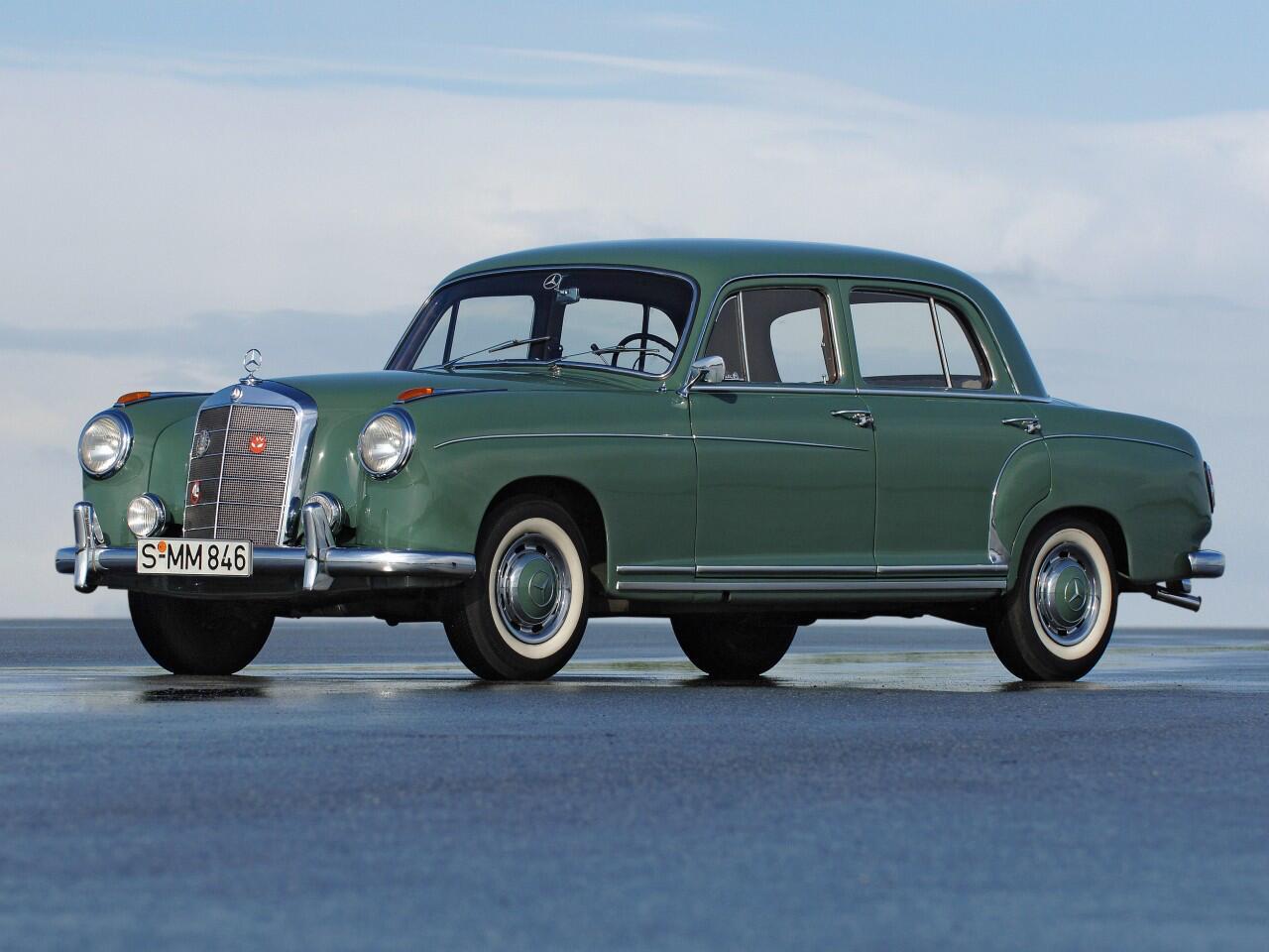 Bild zu Mercedes W 180 von 1954