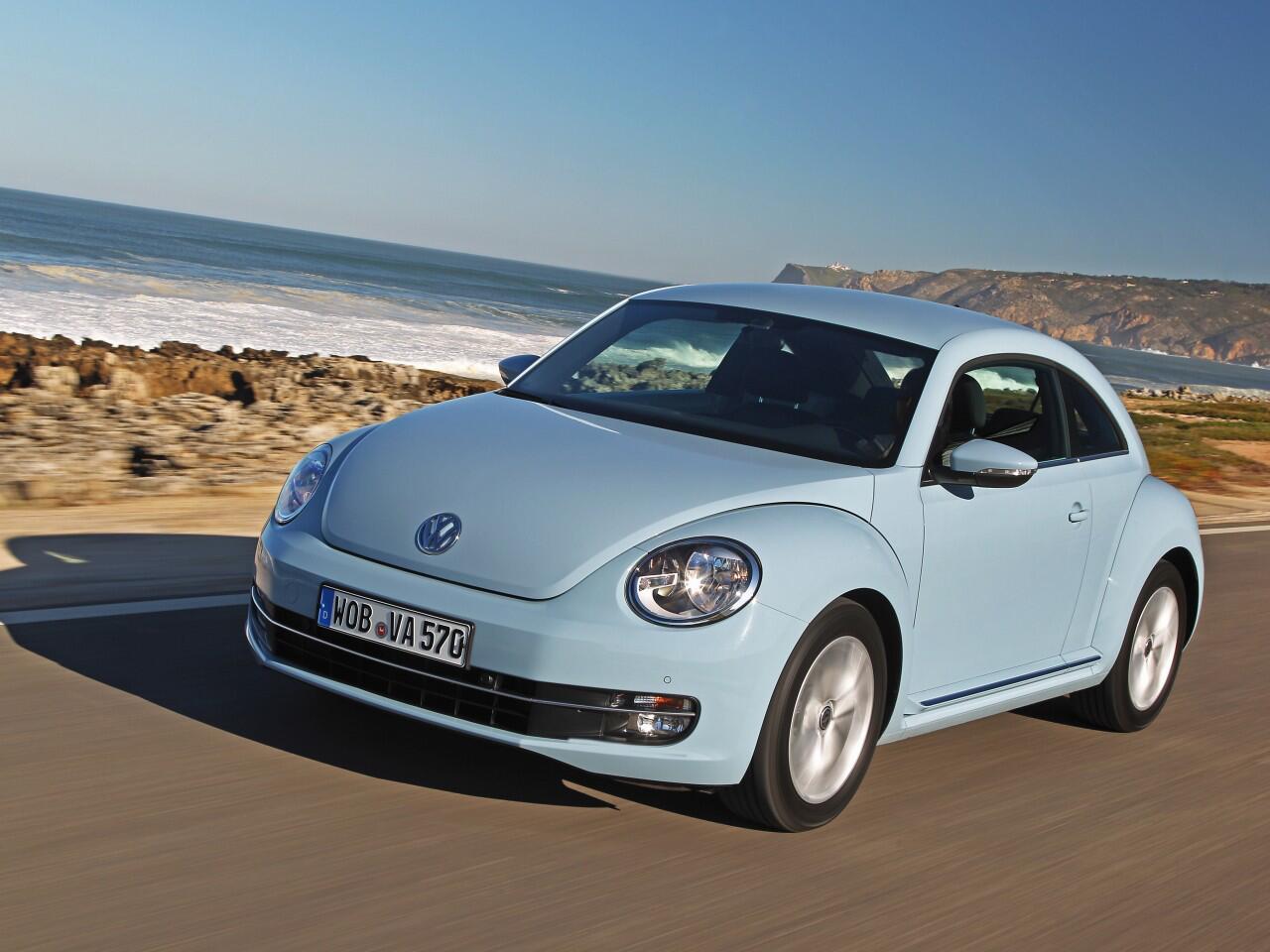Bild zu 1997 startete der VW New Beetle, seit 2011 heißt er nur noch Beetle