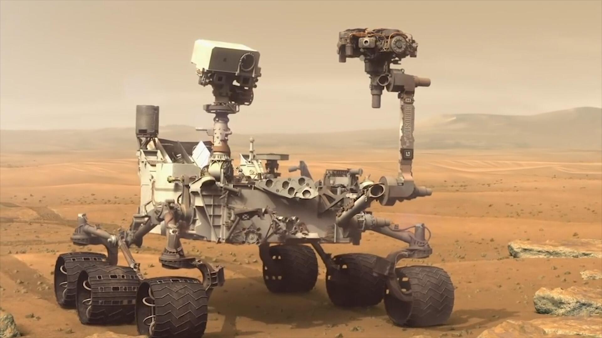 Bild zu NASA entdeckt organische Moleküle auf dem Mars
