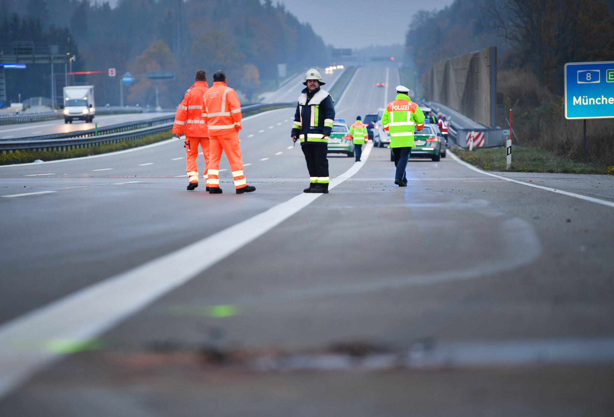 Bild zu Tödlicher Geisterfahrer-Unfall auf A8