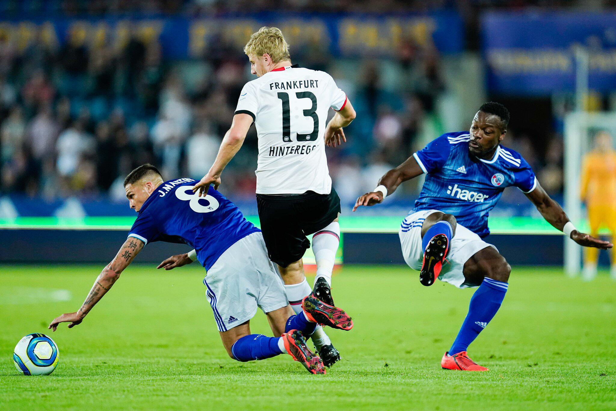 Bild zu Racing Straßburg - Eintracht Frankfurt