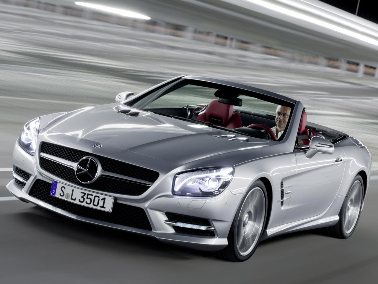 Bild zu Mercedes SL 350 (R 231)