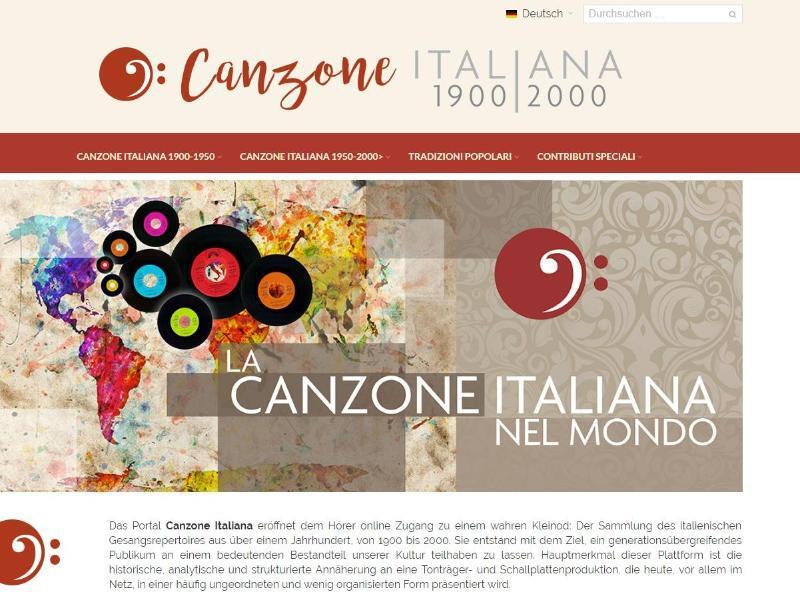 Bild zu Canzone Italiana