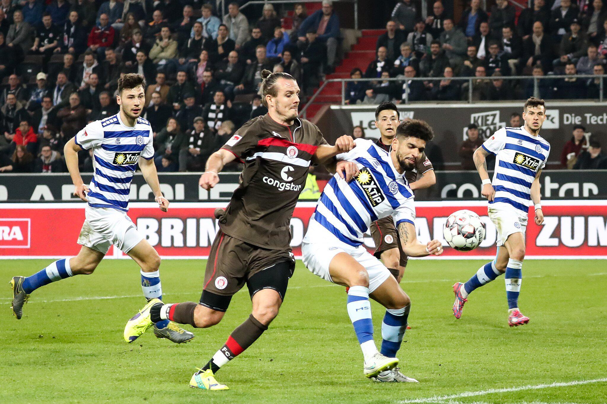 Bild zu FC St. Pauli - MSV Duisburg