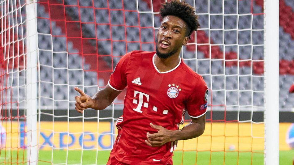 FC Bayern München und Kingsley Coman in der Champions League