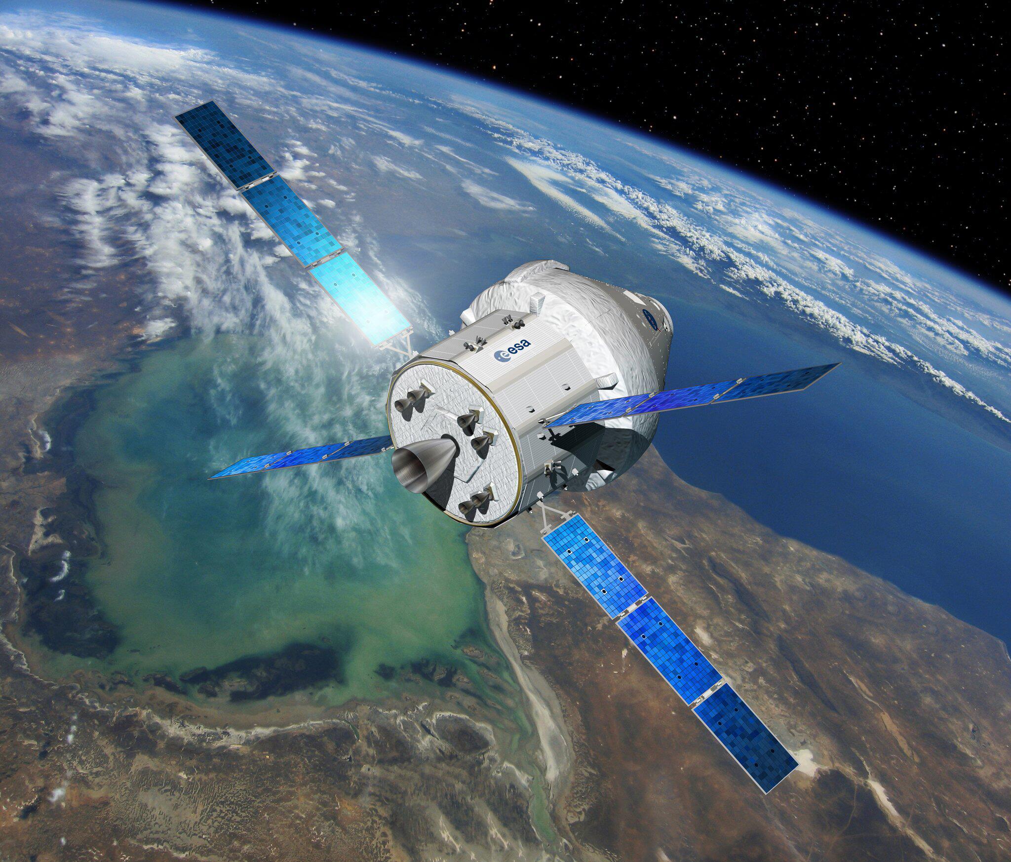 Bild zu Orion mit ESM