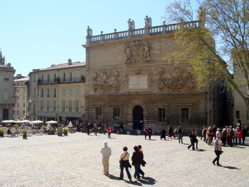 Bild zu Papstpalast in Avignon