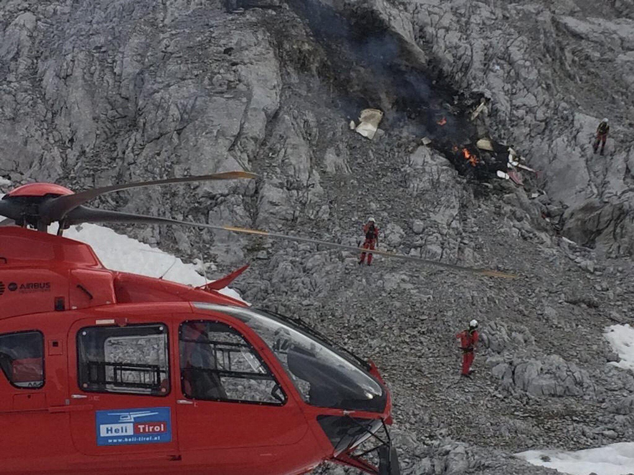 Bild zu Tödlicher Absturz eines Kleinflugzeugs
