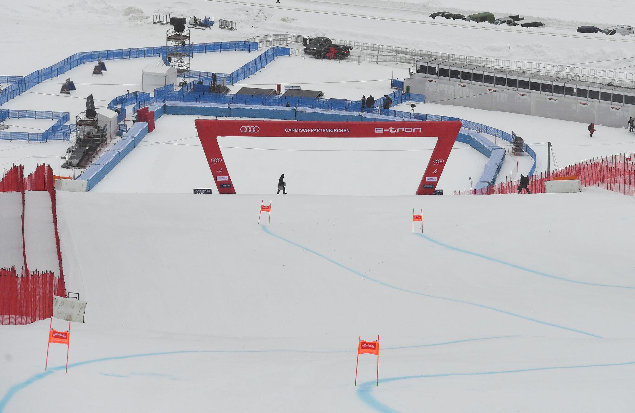 Bild zu Vor dem Ski-Weltcup in Garmisch-Partenkirchen