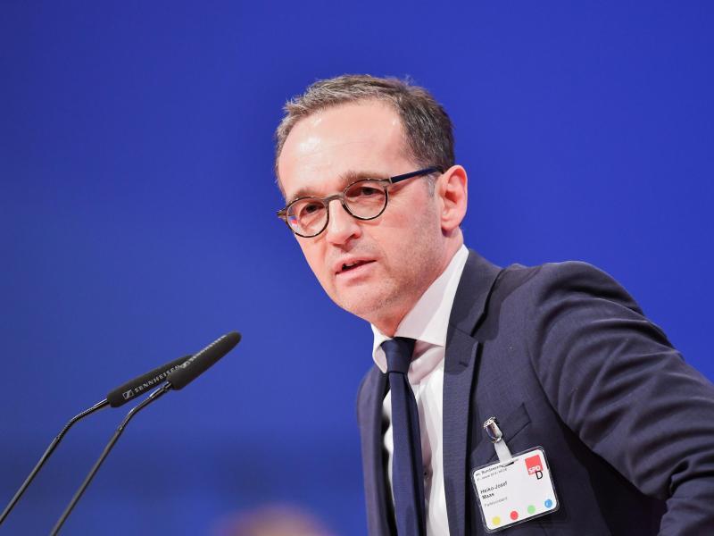 Bild zu Bundesjustizminister Heiko Maas