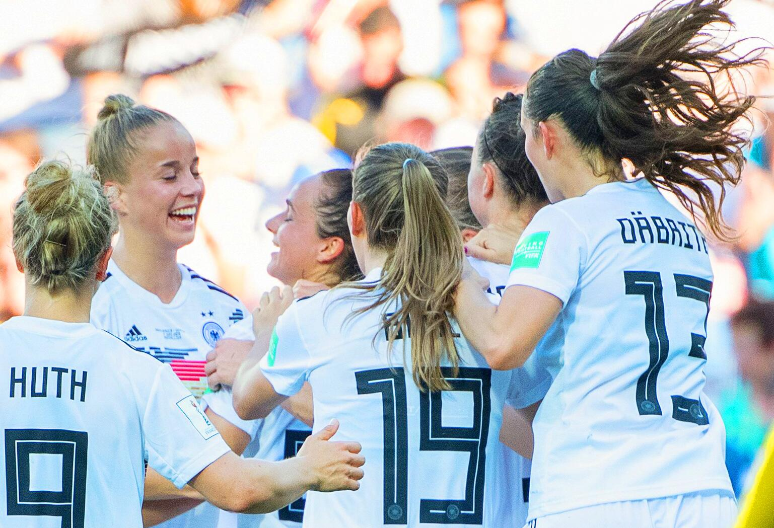 Bild zu Women's Football World Cup - South Africa - Germany