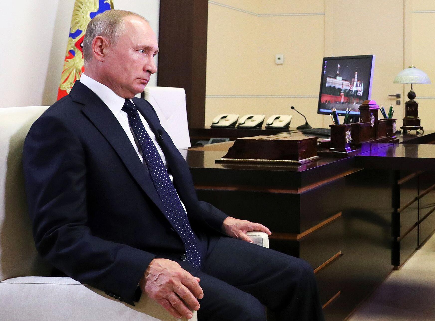 Bild zu Proteste in Belarus - Präsident Putin