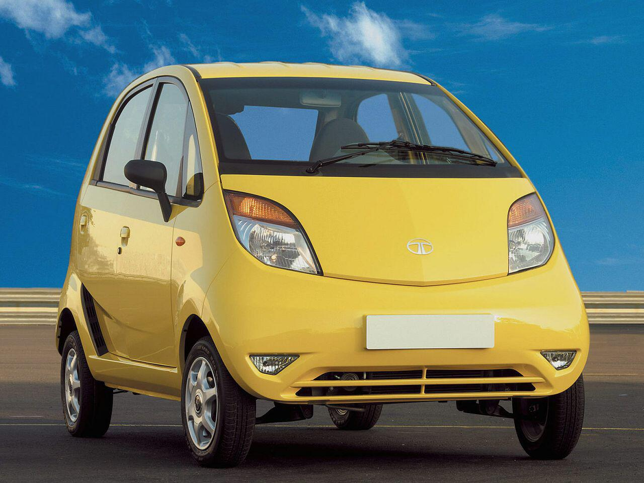Bild zu Billig-Auto Tata Nano: Da kann selbst ein Dacia nicht mithalten
