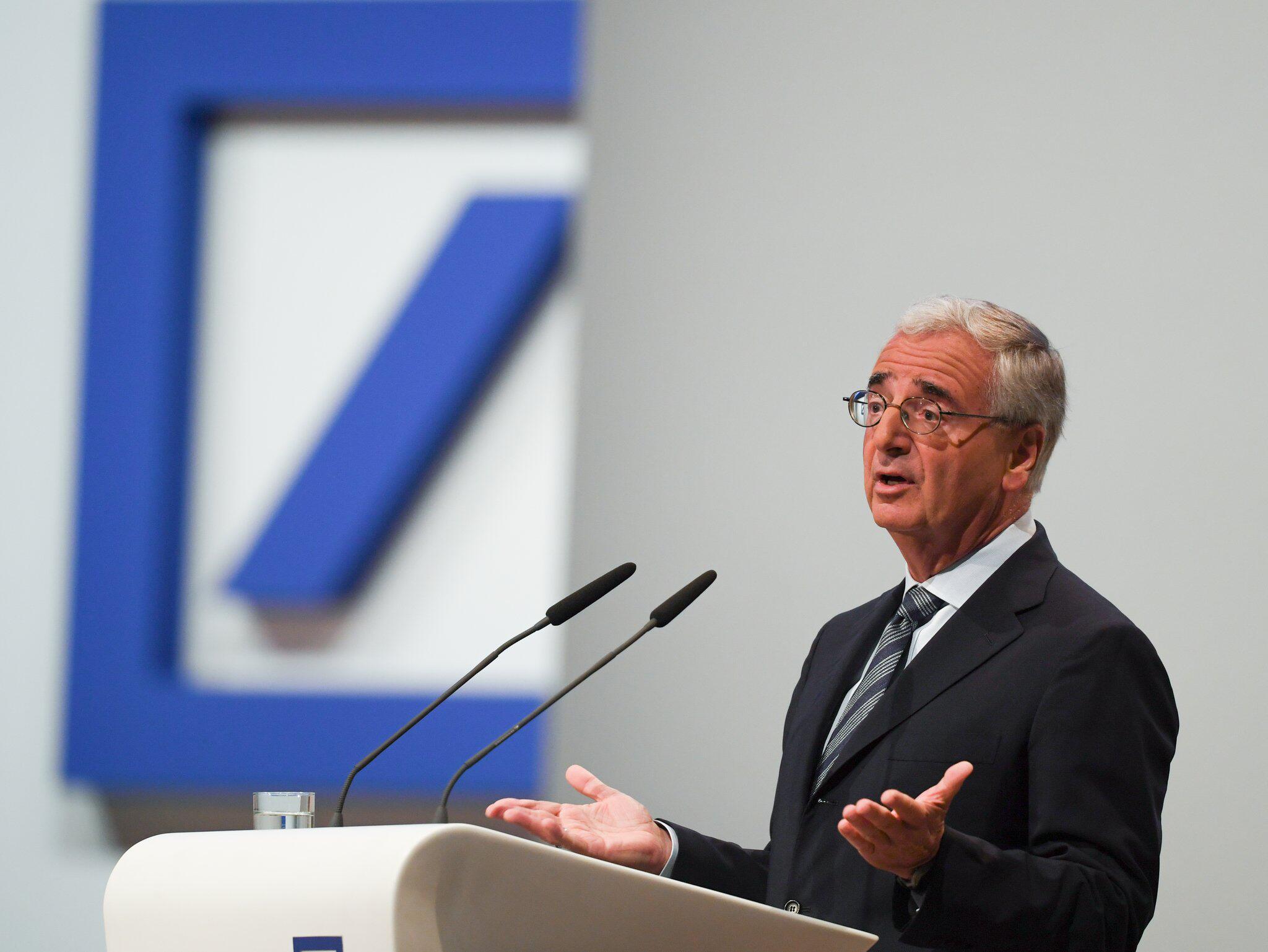 Bild zu Deutsche Bank, Jahreshauptversammlung, Paul Achleitner, Aufsichtsratsvorsitzender, Rede